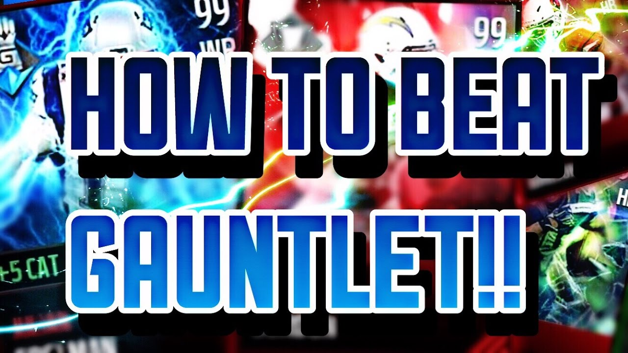 Madden Mobile 17 - Best Ways To Beat The Guantlet And Win 99 Julian Edelman